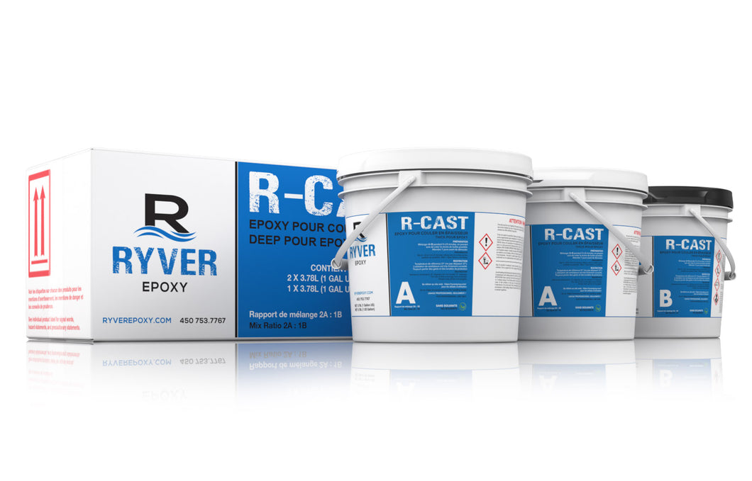 RYVER R-Cast 3 Gallon Kit