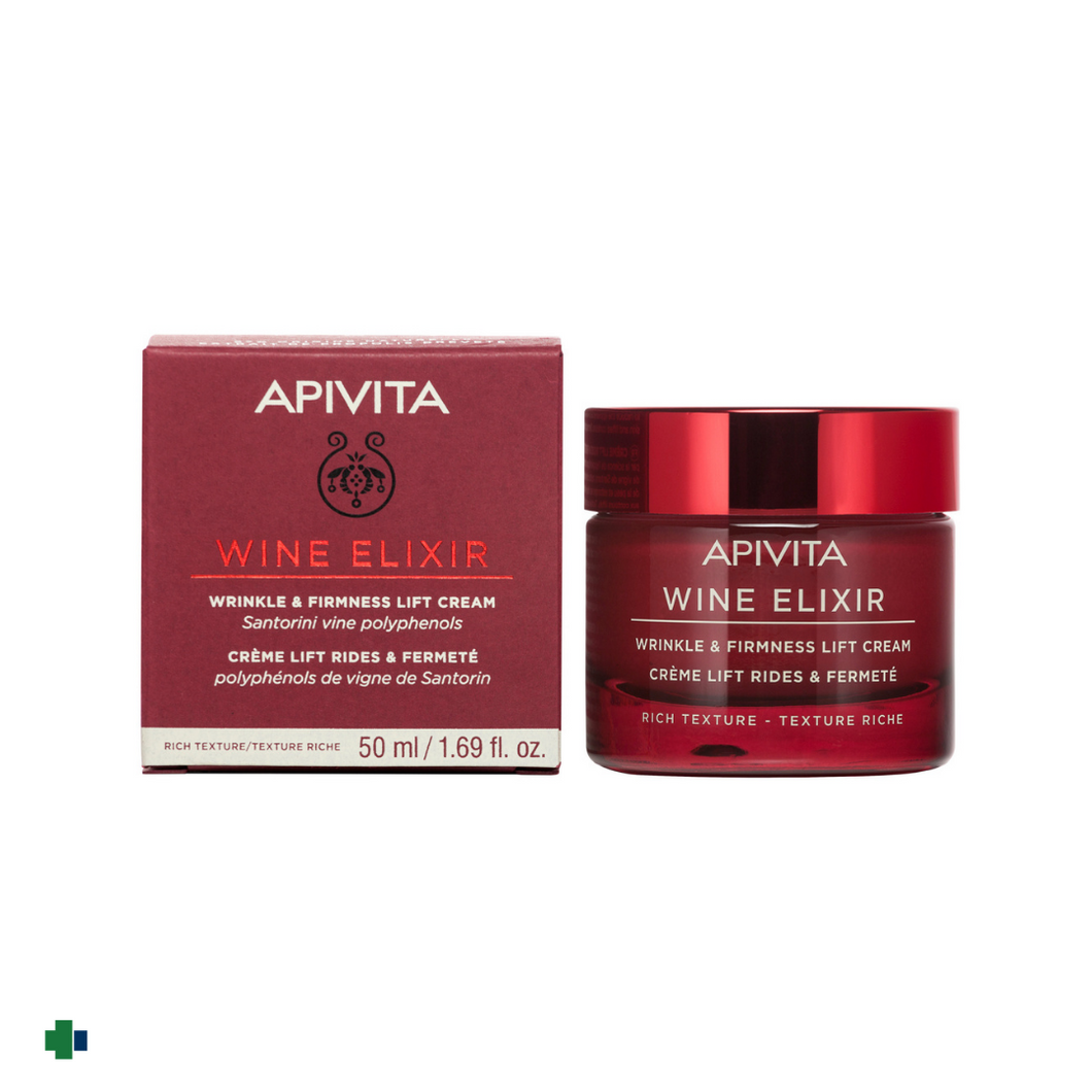 APIVITA NEW WINE ELIXIR CREMA T. RICA ANTIARRUGAS&REAFIRMANTE EFECTO LIFTING