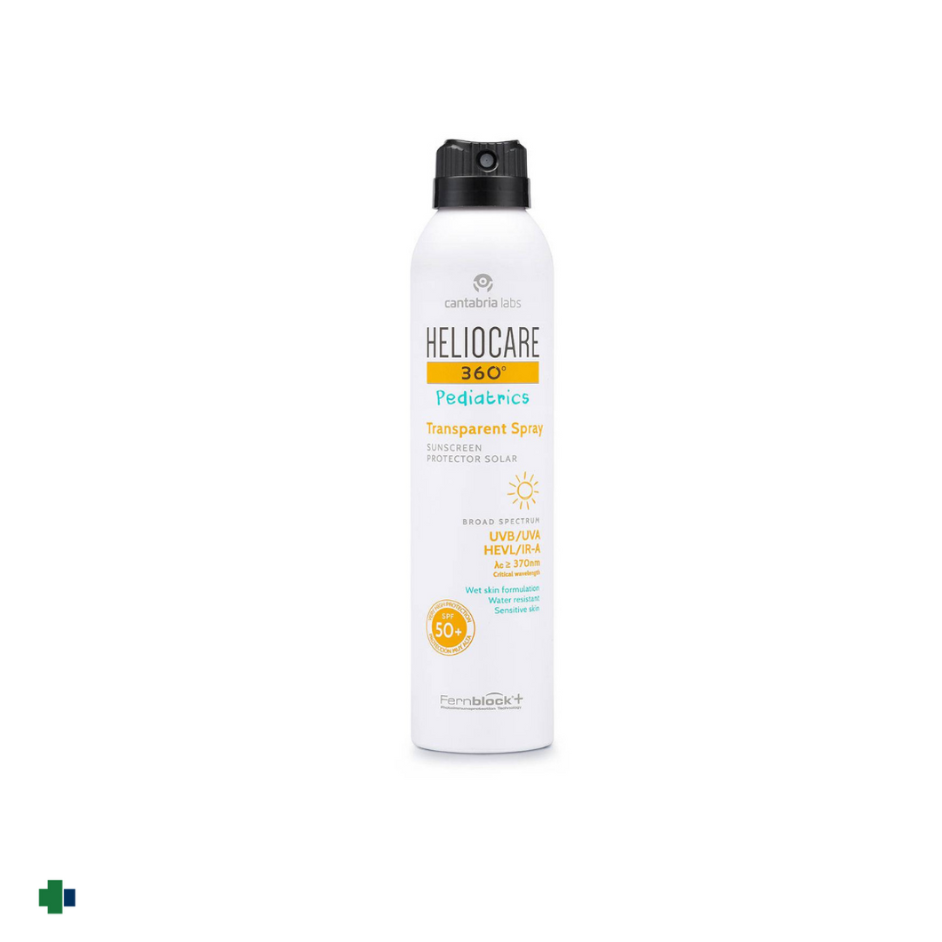 HELIOCARE 360º PEDIATRICS SP50+  TRANSPARENT  SPRAY  200 ML