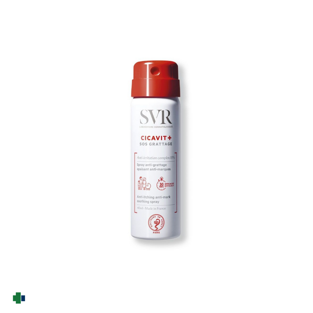 SVR CICAVIT + SOS GRATTAGE SPRAY  40 ML
