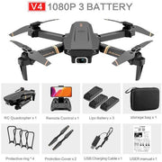 4DRC V4 Drone with 1080P HD Camera for Adults and Kids, Foldable Quadcopter with Wide Angle FPV Live Video, Trajectory Flight, App Control,Optical Flow, Altitude Hold Altitude Hold Durable RC Quadcopter-Drone Direct Shop-Drone Direct Shop