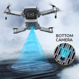 Tomzon D25 4K Foldable Drone with Camera for Adults, Drone for Kids Beginners with Optical Flow Positioning, Headless Mode, Hand Gesture Photographing, 3D Flips, 2 Batteries for Indoor and Outdoor-Drone Direct Shop-Drone Direct Shop