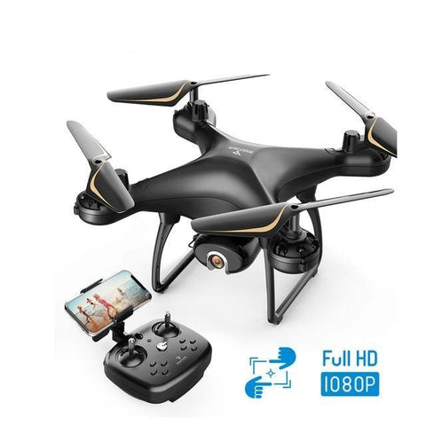 Snaptain HD Live Video Camera Drone Voice Gesture-Drone with camera - Best Drone with camera-DroneDirectShop-Black 2 Batteries-Drone Direct Shop