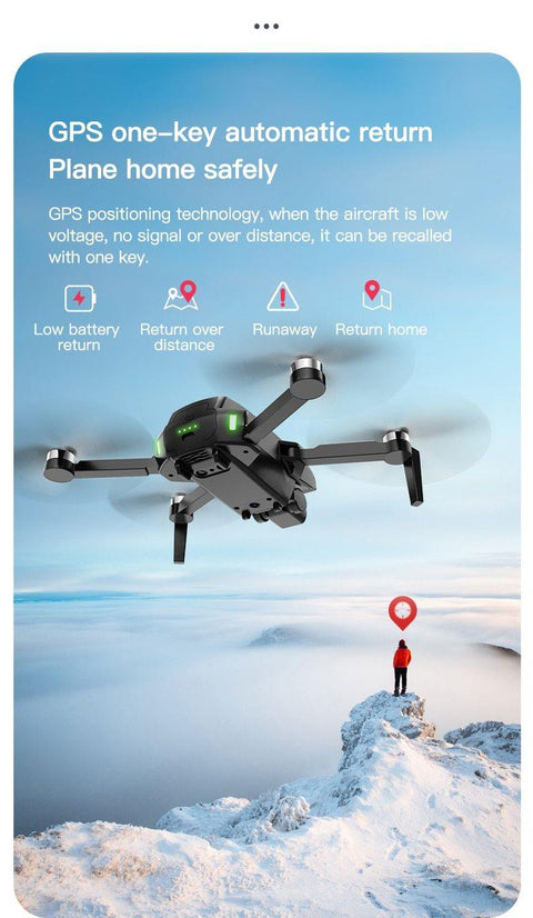 FEMA GPS Drone With Camera 4k HD 5G WiFi Brushless FPV drone 25min-Drone-Drone Direct Shop-Drone Direct Shop
