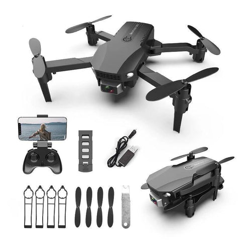 Fpv Mini Drone 4k HD Dual Camera-Drone-DroneDirectShop-4K Black 3 Batteries-Drone Direct Shop