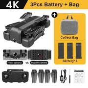 Drone 4K FPV Camera drone Professional-Drone-DroneDirectShop-4K - 3 Batteries-Drone Direct Shop