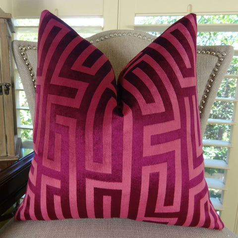 Magenta, Fuchsia & Pink Pillows