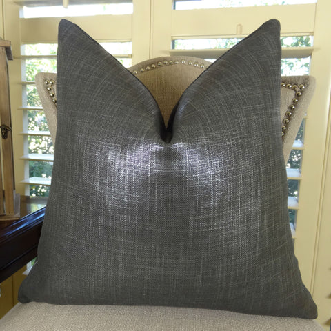Gray & Silver Pillows