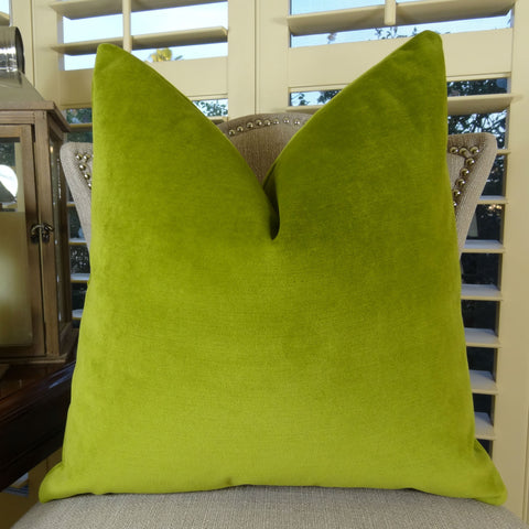 Green, Mint & Citrine Pillows