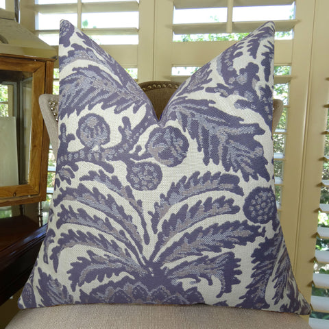 Navy Blue Luxury Sofa Pillow Graphic Couch Pillow 11322