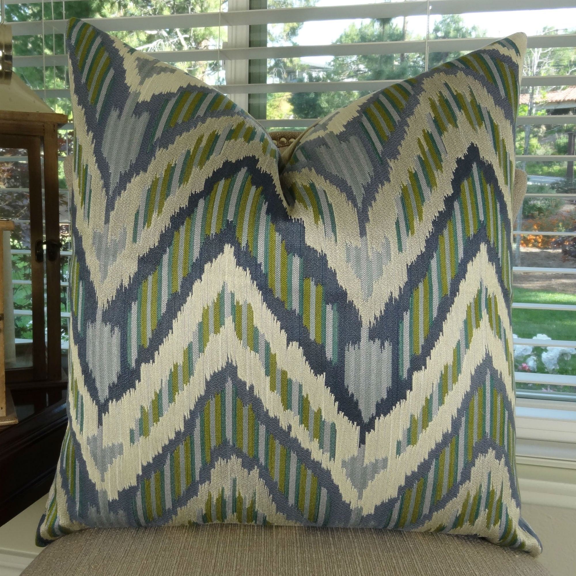 throw cover blue product pillows pillow coral seafoam and navy