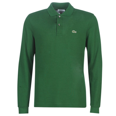 Lacoste L1312-132 Polo Pique 'Long Sleeve Classic GREEN