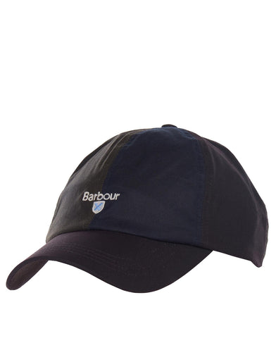BARBOUR MHA 0676-OL71 Alderton Sports Cap Olive Navy Rust