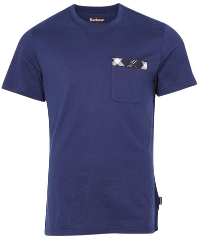 Barbour MTS0828-BL46 Bryce SS T-shirt REGAL BLUE