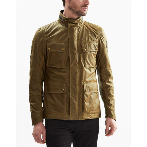 BELSTAFF 20015 Explorer Field Jacket OLIVE BROWN