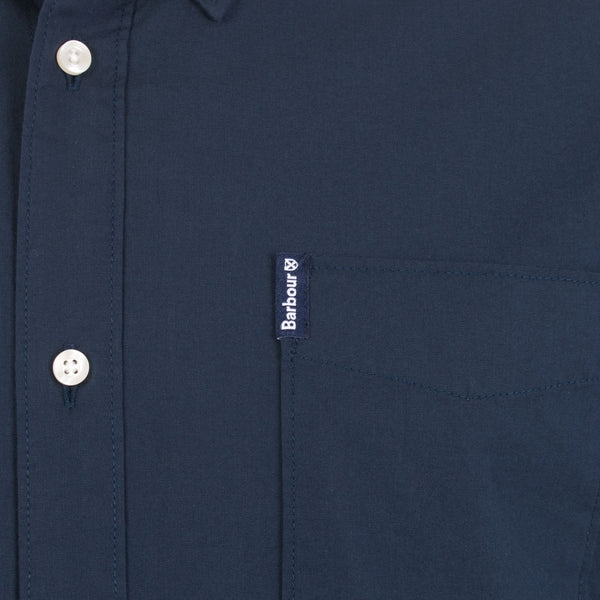 Barbour MSH4483-NY91 Oxford Button Down Shirt BLU navy