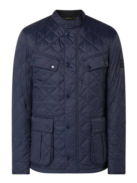 Barbour MQU1240-NY71 New International Quilted Ariel Jacket NAVY Blue