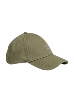 GANT 9900000-358 New Twill Baseball Cap MILITARY