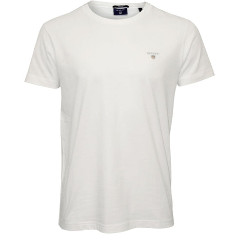 GANT 234100-110 The Original T-Shirt SS C-Neck WHITE