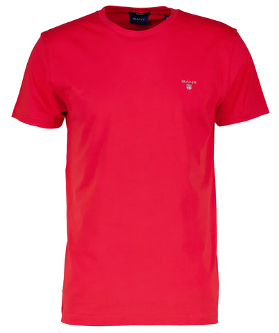 GANT 234100-620 The Original T-Shirt SS C-Neck RED