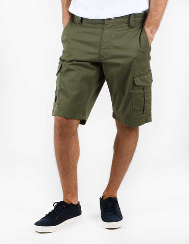 Gant 20018-372 Relaxed Twill Cotton Utility Cargo Shorts Dark Leaf Green