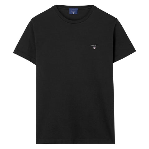 Gant 234100-05 The Original SS T-Shirt BLACK