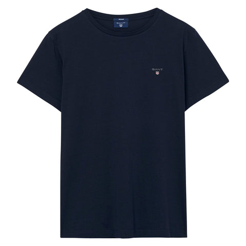 Gant 234100-433 The Original SS T-Shirt BLU Navy