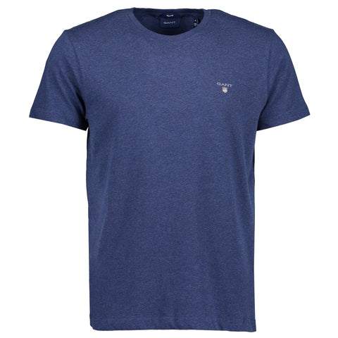 Gant 234100-482 The Original SS T-Shirt Cobalt Blue