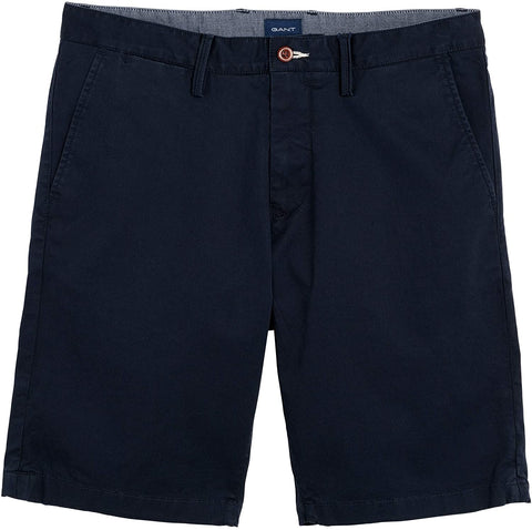 Gant 20007-410 Relaxed Twill Cotton Shorts BLU Navy