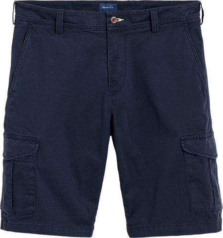 Gant 20018-410 Relaxed Twill Cotton Utility Cargo Shorts BLU Navy