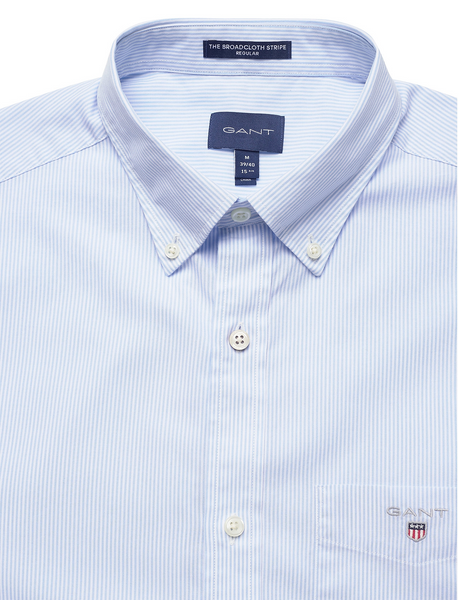 GANT 3063000-468 Regular Broadcloth Banker Button Down Shirt