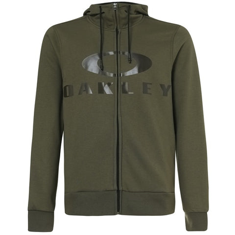 OAKLEY 461643-86V Bark FZ Hoodie Felpa MILITARY Green