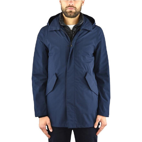 PEOPLE OF SHIBUYA PM891-799 Hachiko Parka Uomo BLU navy