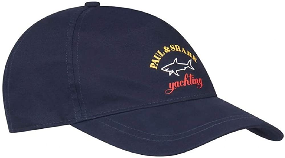 Paul & Shark 21417100-013 Cotton Logo Cap BLU Navy