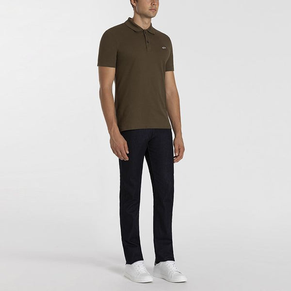 Paul & Shark COP1013-132 Polo Manica Corta Piquet Cotone Military Green