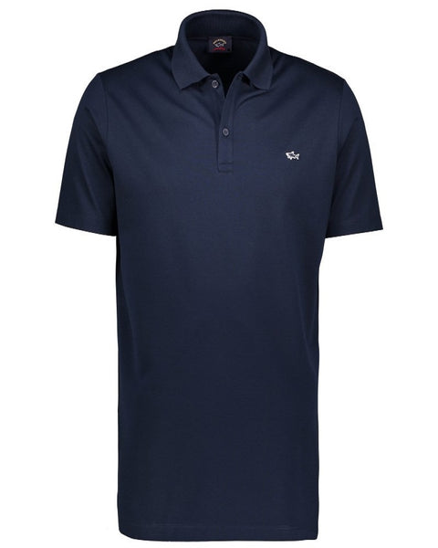 Paul & Shark COP1013-13 Polo Manica Corta Piquet Cotone BLU navy