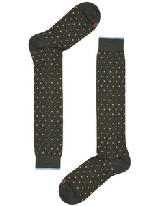 Red Sox Long Socks Pois, Green RSX 64766G V0009