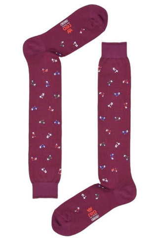 Red Sox Calza Lunga Stampa Vespa Bordeaux RSX 62596G V4700