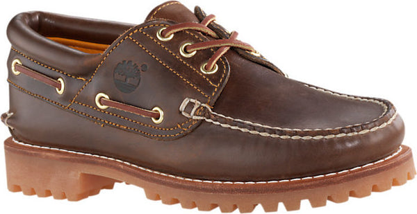 Timberland TB030003-214 Authentic Icon Handsewn Boat Shoe MD Brown Full Grain 3eye