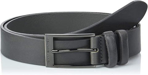 Tommy Hilfiger AM0AM04068-85 Formal Double Loop Belt Black