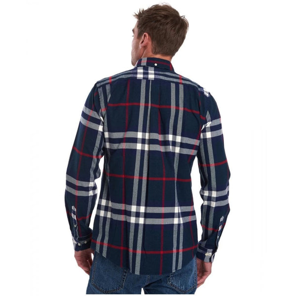 Barbour MSH4552-NY91 Camicia Highland Check 18 Tailored