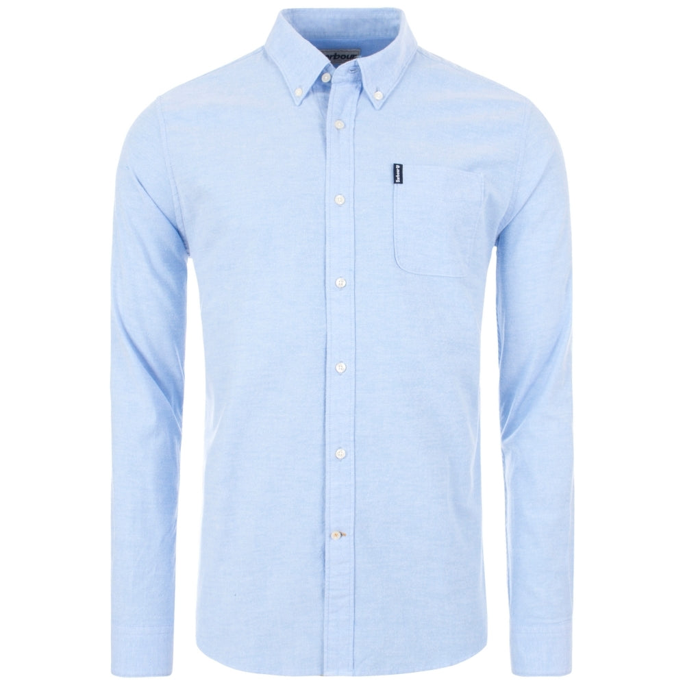 BARBOUR MSH4802-BL32 Oxford Button Down Shirt Camicia Uomo