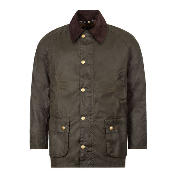 Barbour MWX0339-OL51 Ashby Jacket Waxed Olive Brown