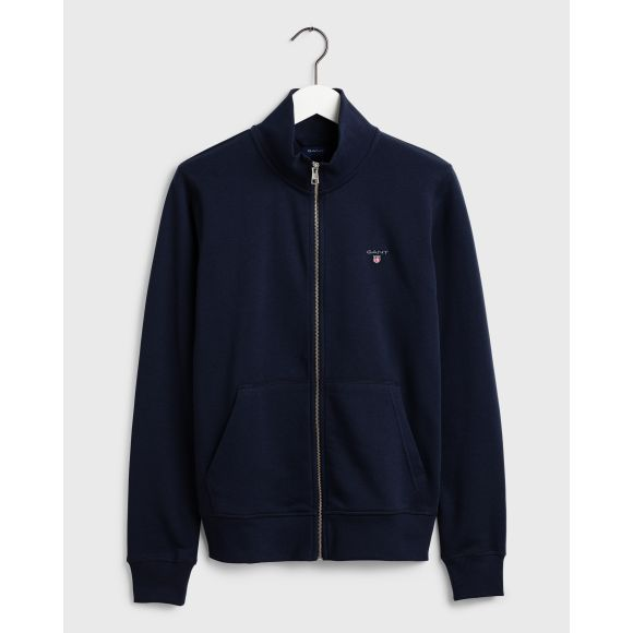 GANT 204615-433 The Original Full Zip Sweater Felpa zip BLU navy