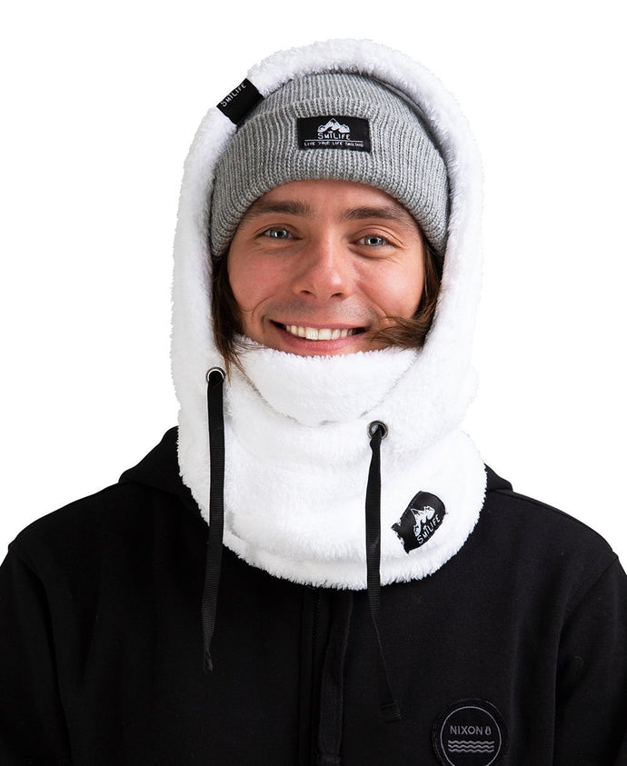 Balaclava - PLUSH WHITE (Limited Edition)
