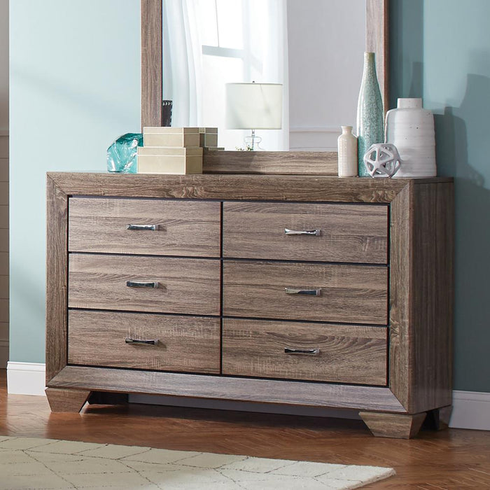 Kauffman Transitional Six-Drawer Dresser image