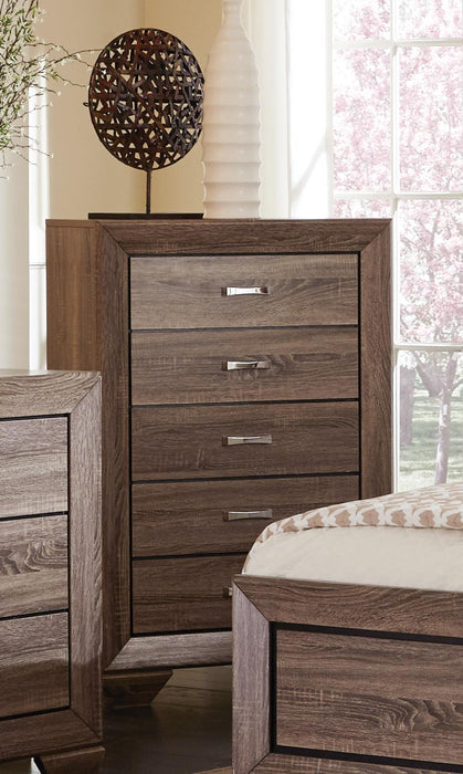 Kauffman Transitional Five-Drawer Chest image