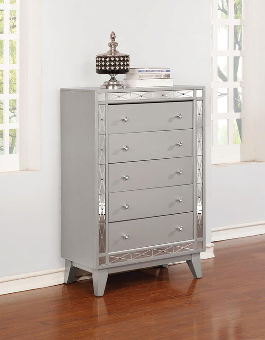 Leighton Contemporary Five-Drawer Chest image