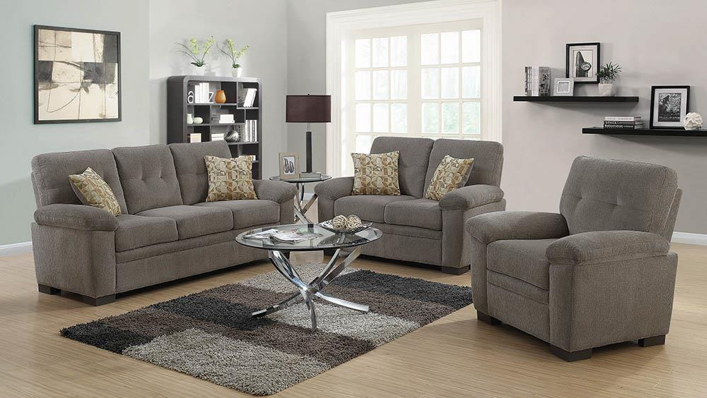 Fairbairn Casual Oatmeal Loveseat image