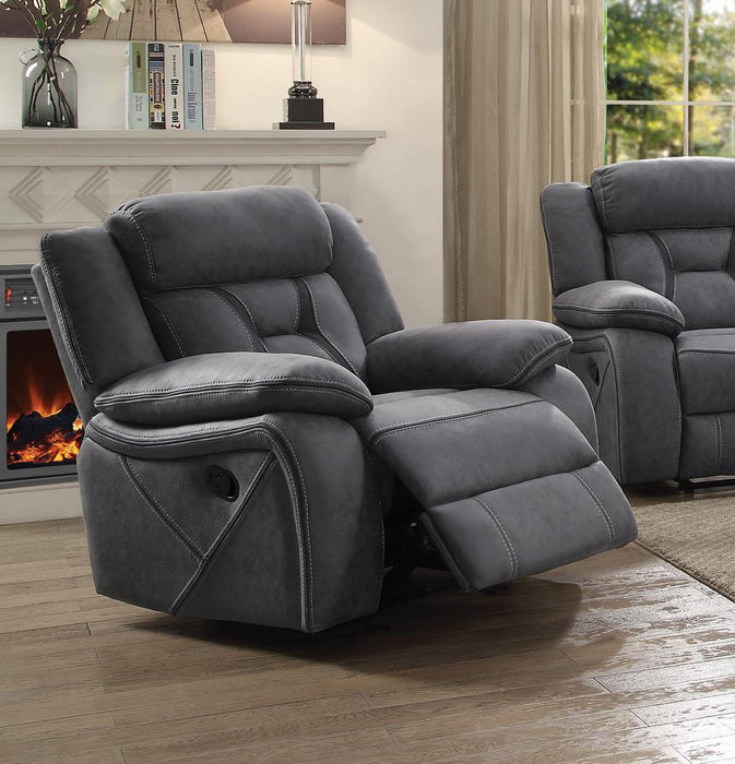 Houston Casual Stone Glider Recliner image